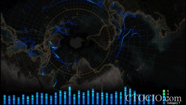 数据可视化项目8-Hurricanes Since 1851