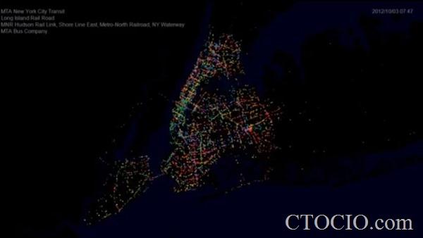 数据可视化项目9- New York Transit (MTA)
