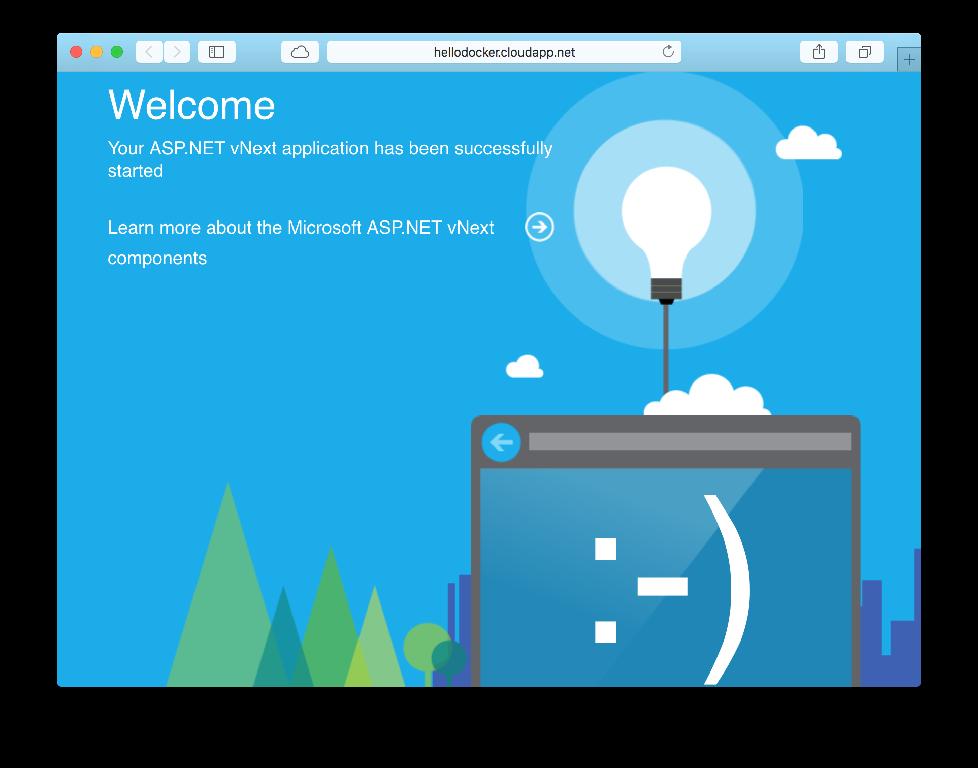 在Linux中使用Docker容器部署ASP.NET 5应用程序