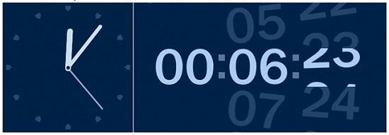 HTML CLOCKS USING JAVASCRIPT AND CSS ROTATION