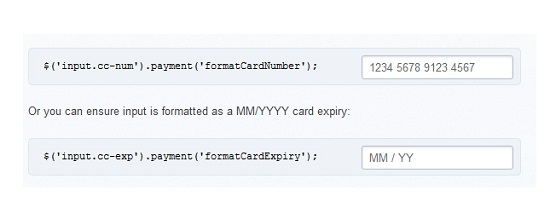 jQuery.payment