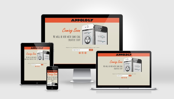 Appology - free under construction templates