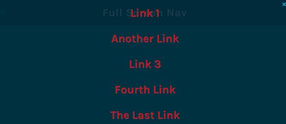 Full-Screen-Nav