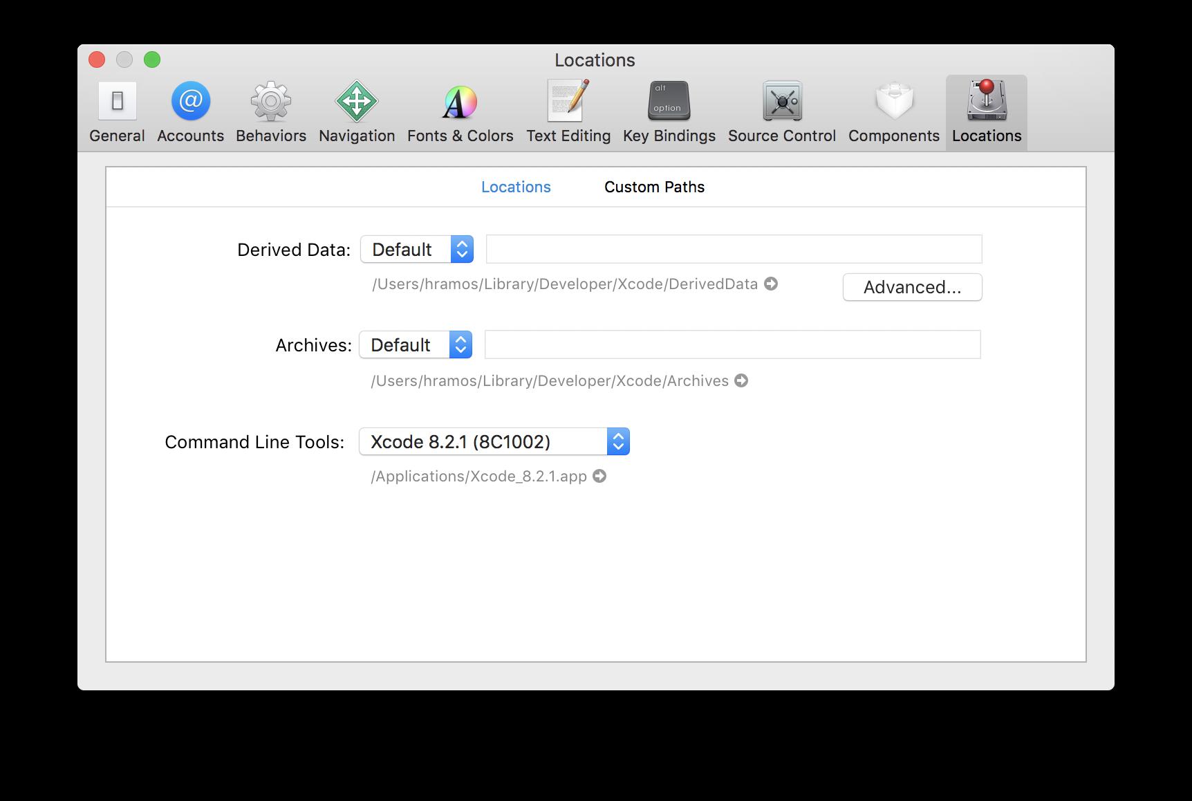 Xcode Command Line Tools